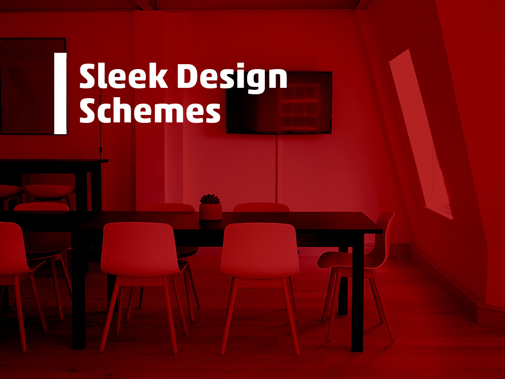 sleek design schemes