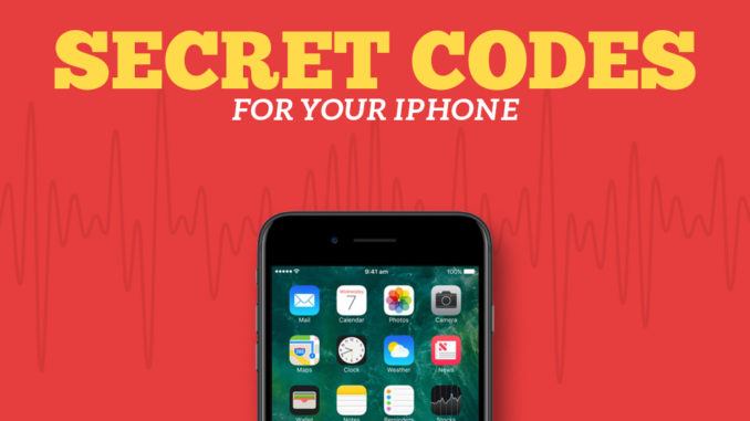 Secret codes for your iphone