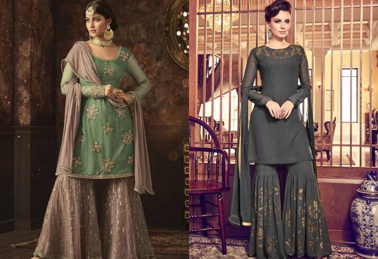 4. Sharara Salwar Kameez